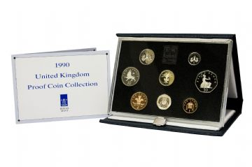 1990 Proof set Blue standard